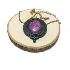 Mohave stone pendant
